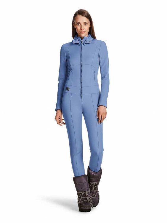 ski jumpsuit mija in blue for women bogner uk womens. Black Bedroom Furniture Sets. Home Design Ideas