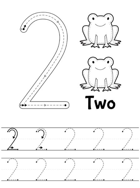 Freebie! Free number 3 worksheet: count and trace - for preschool ...