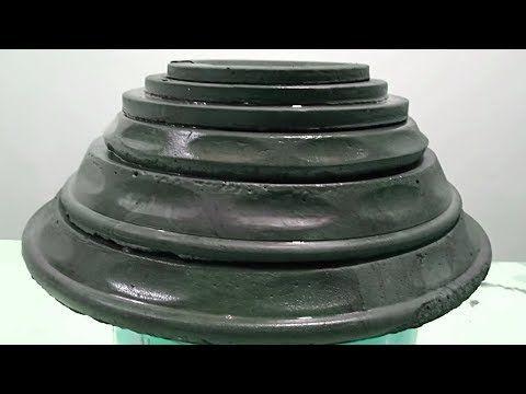 مشروع صغير مربح من البيت ببلاش افكار مصريه Youtube Garden Pots Cement Garden Pot Tray