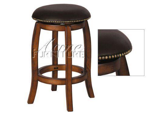 "24""H Swivel Counter Height Stool Vintage Oak Finish by Acme Furniture, http://www.amazon.com/dp/B001I0D3FU/ref=cm_sw_r_pi_dp_ukCGrb1RZ6B9B $98"
