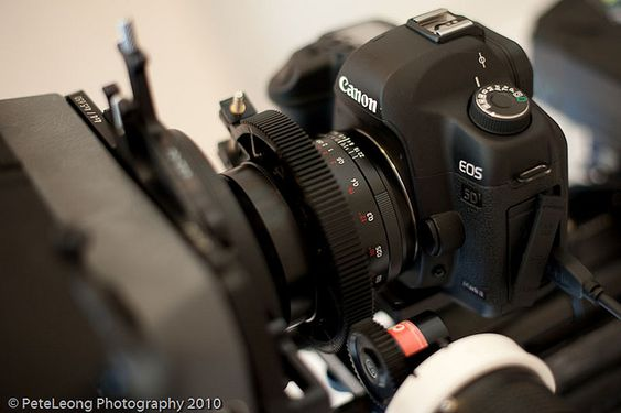 Carl Zeiss and Canon partnership