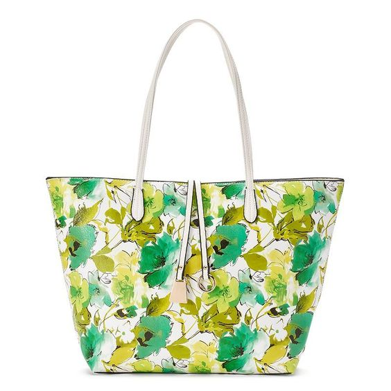 Mellow World Arielle Floral Tote, Women's, Green