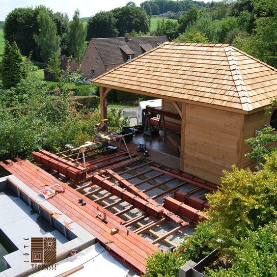 Nivrem com = Pose Terrasse Bois Vis De Fondation ~ Diverses idées de conception de patio en b # Vis De Fondation Terrasse Bois
