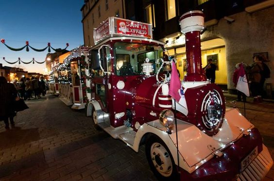 Christmas train tour in Galway