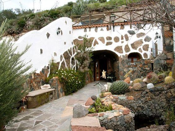 Arquitectura de Casas: Casas subterráneas, viviendas soterradas.