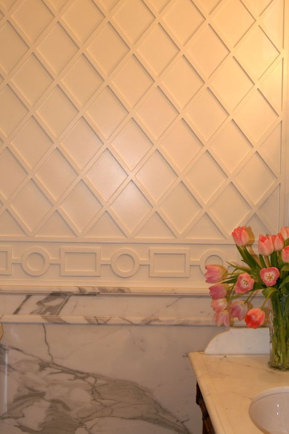 Pinterest the world s catalog of ideas - Cool wall treatments ...