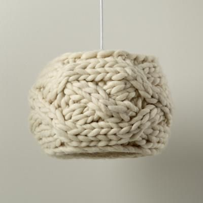 Great way to hide an out-of-date lamp shade!