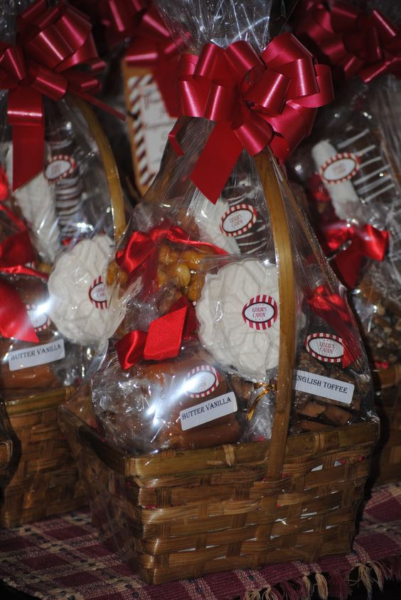 Custom Gift Baskets by Leslie's Handmade Candy. Utah ...