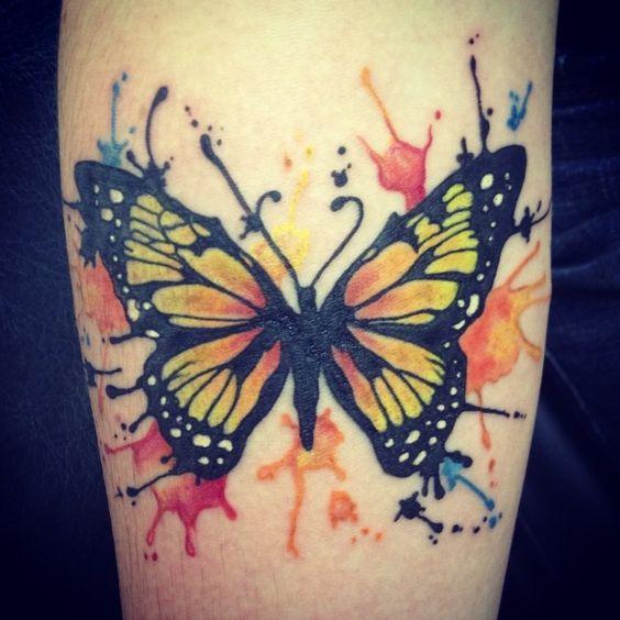Tatouage papillon: 39 belles photos pour vous inspirer!  Belle ...