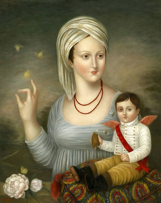 Fatima Ronquillo is a self-taught painter whose classically inspired imagery evokes a world of serenity and charm. Her paintings of mys...