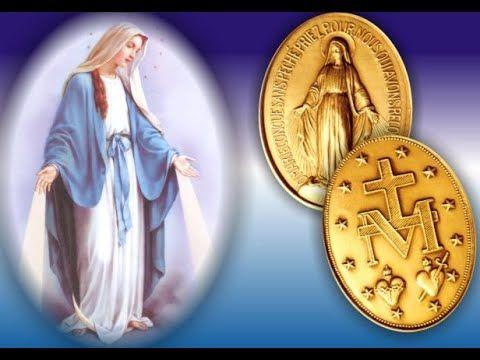 A Nuestra Señora De La Medalla Milagrosa Poema A La Santísima Virgen María Y Santa Catalina Labouré Youtube En 2021 Virgen Milagroso Medallas