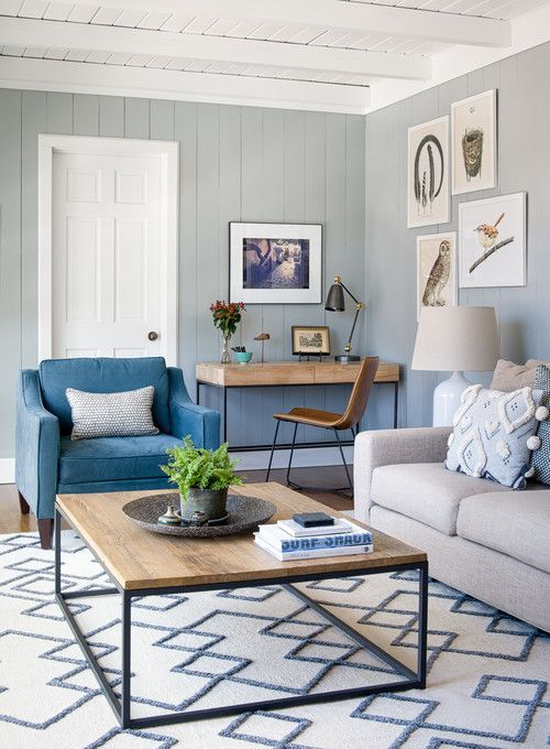 Beach Style Living Room In Light Blue And Tan In 2020 Blue Living Room Decor Living Room Turquoise Blue Living Room #tan #and #turquoise #living #room