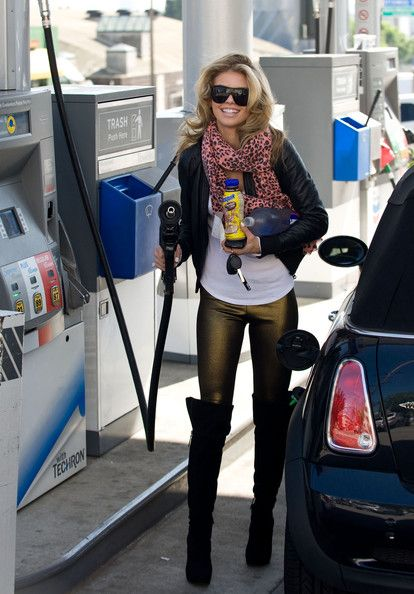 AnnaLynne McCord Over the Knee Boots | Outfit work, Awesome and ...