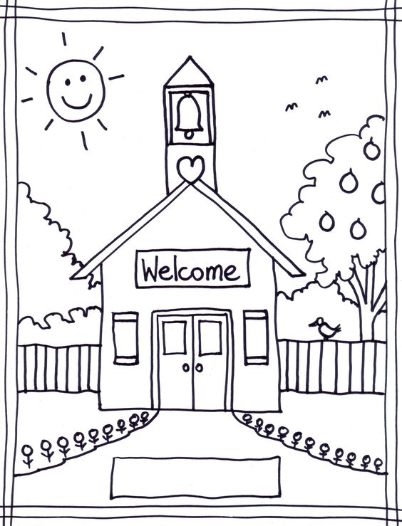 Back To School Coloring Pages Free Printables Image 22