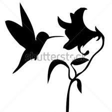 Resultado de imagem para beija flor desenho