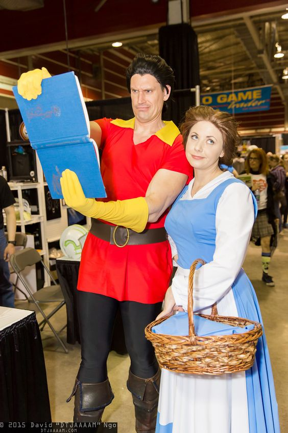 Gaston and Belle at Calgary Expo 2015 #DTJAAAAM