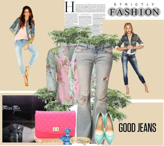 """Good Jeans"" by kitty1255 ❤ liked on Polyvore"