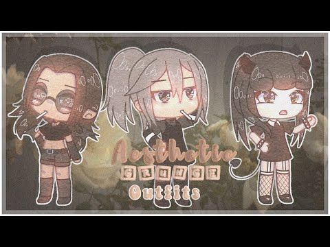 Grunge Outfits Gacha Life Youtube In 2020 Anime Outfits Aesthetic Grunge Outfit Cartoon Outfits