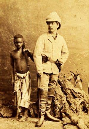 Billete de 10 Pounds con la imagen del explorador David - mr livingstone i presume