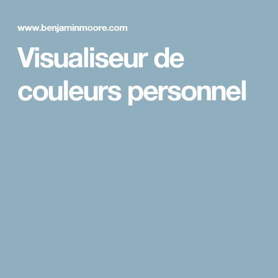 Visualiseur de couleurs personnel