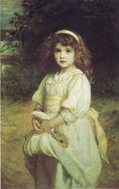 """Orphans"" by Millais 1885 