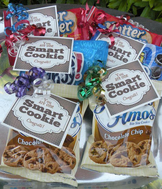 One Smart Cookie bag tag printable
