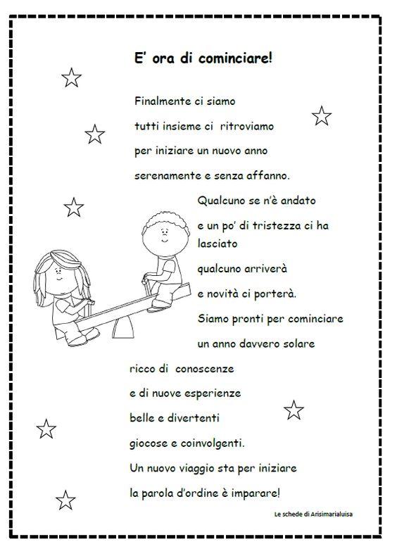 Poesia inizio anno