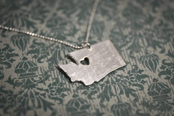 Heart #Washington necklace.