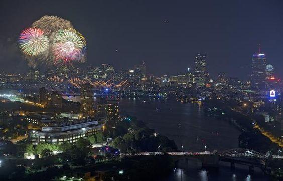 july 4th charles river boston