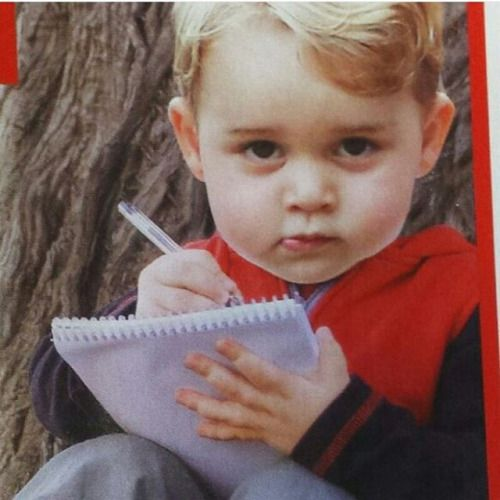 Prince George is watching you!: