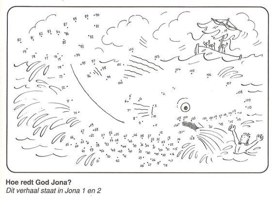 Jona Van Stip Naar Stip Bekende Bijbel Verhalen Over