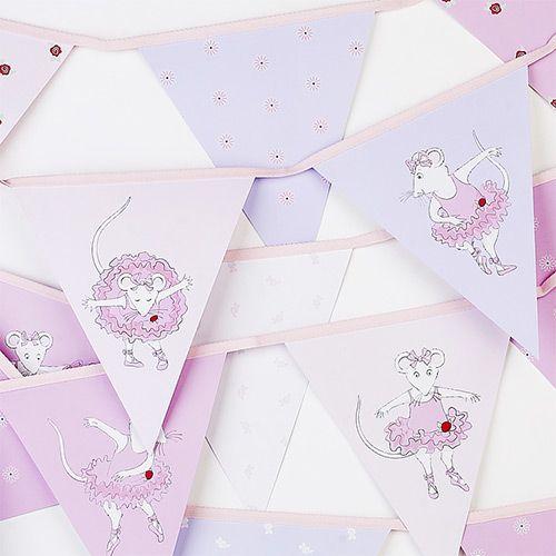 Party Ark's 'Angelina Ballerina Paper Bunting'