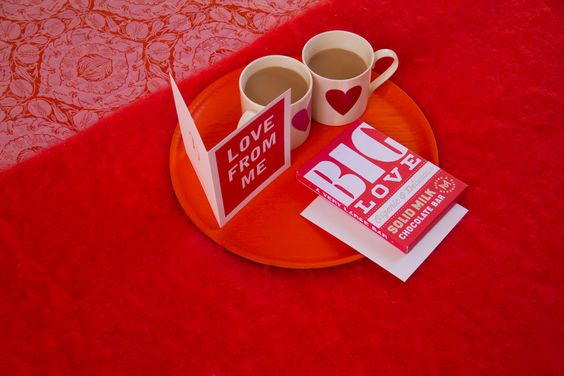 Breakfast in Bed Vol.3 - With Love. Gorgeous Things LTD's Valentines Day 2015.