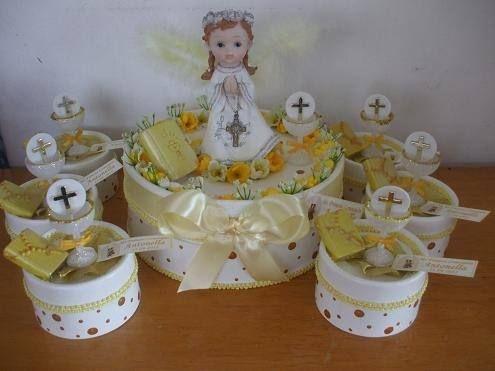 Accesorios para armar souvenirs de comunion buscar con google primera comunion pinterest - Centros de mesa para primera comunion originales ...