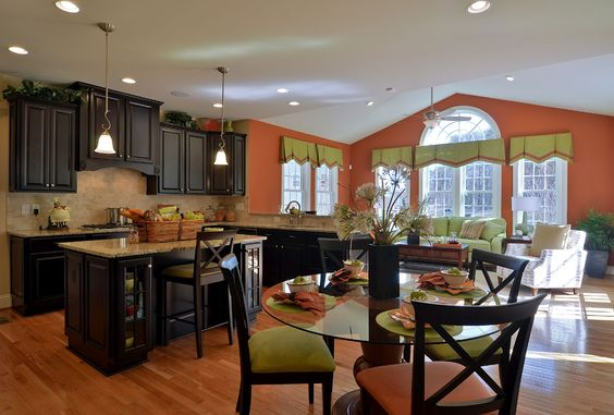 The empress kitchen with morning room empress home for Morning kitchen ideas