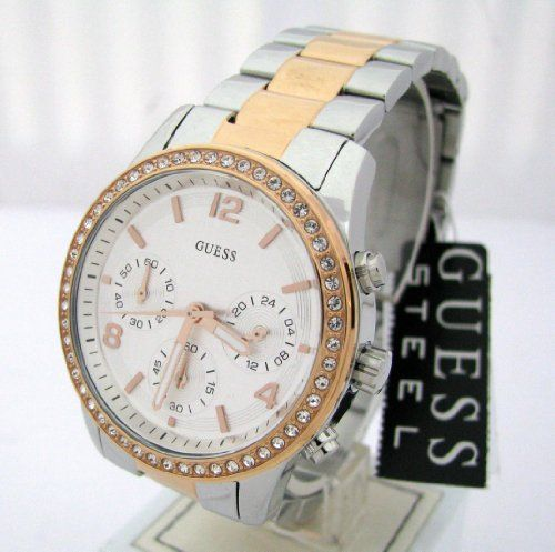 Guess Sports Silver/Rose Gold Watch W0122L1 GUESS http://www.amazon.com/dp/B00DGMXUNI/ref=cm_sw_r_pi_dp_.KjItb1PCTBHQZ2Q