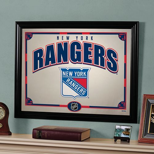 New York Rangers wall mirror
