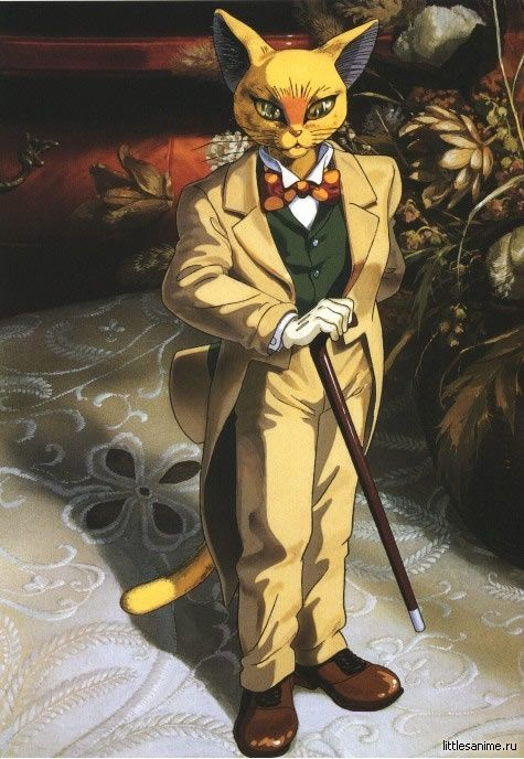 Day 3: Favourite male character from an anime The Baron - Whisper of the Heart.