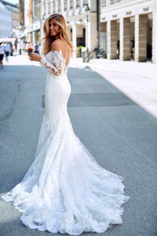 Drilia By Pronovias Available At Bridal Extraordinaire Bebride Kansasbride Bridal Dril Wedding Dresses Pronovias Wedding Dress Wedding Dress Long Sleeve