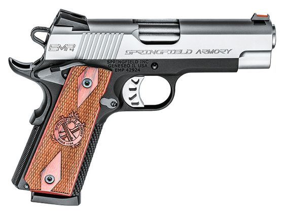 Springfield Armory's 4-inch EMP is a natural for 1911-style concealed carry.