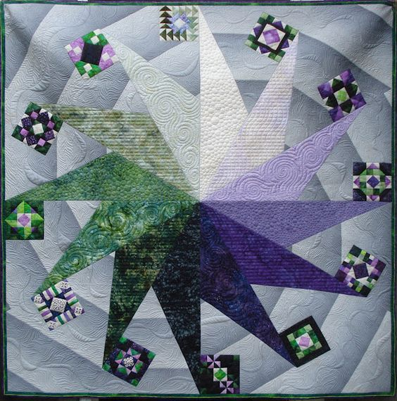 KISSed Quilts - Keeping It Simple and Stunning: Spinner  Quilt