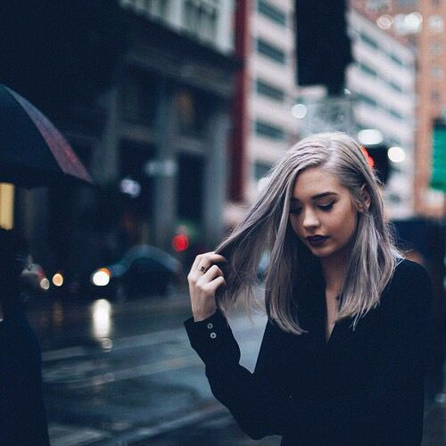 girl, grunge, and hair resmi