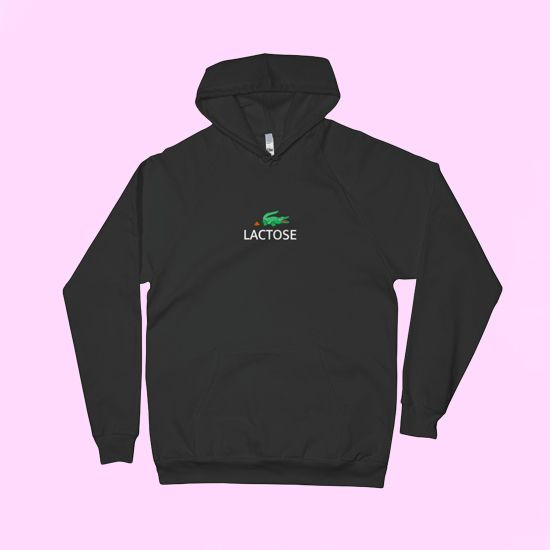 NASA Logo Hoodie Space Astronaut Vintage Style Retro Classic Sweatshirt Black