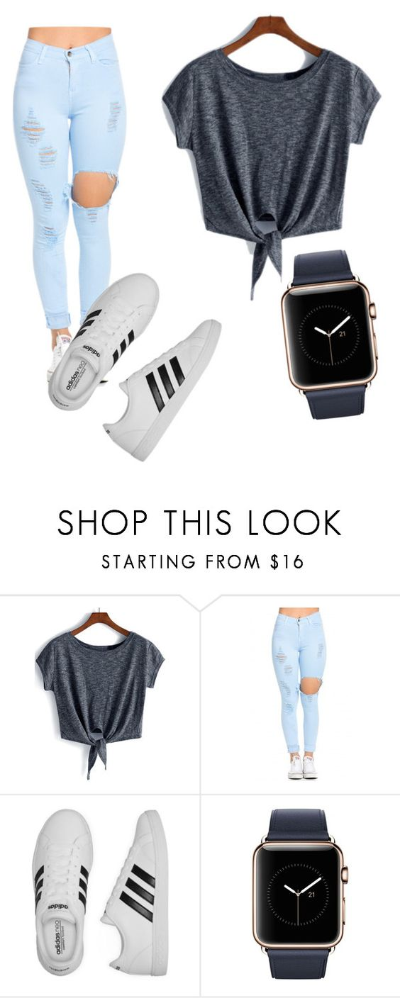 """Cool for the summer"" by biancagramaje on Polyvore featuring adidas"