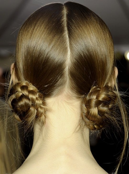 hairstyle (via @Vernonxgr329 ): Braided Buns, Hair Styles, Braided Bun Hairstyles, Hairstyles Ideas, Hair Buns, Hairstyle Braid