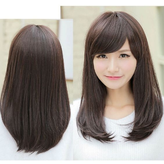 Medium Hair Straight Bangs Online Get Cheap Side Bangs Straight Hair Aliexpress