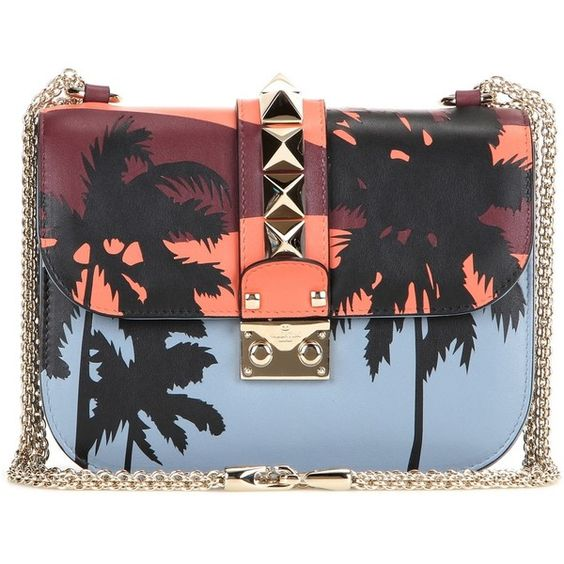 Valentino mytheresa.com Online Exclusive Lock Small Embellished... (36.484.655 IDR) ❤ liked on Polyvore featuring bags, handbags, shoulder bags, multicoloured, multi colored purses, shoulder bag handbag, embellished handbags, valentino handbag et locking purse