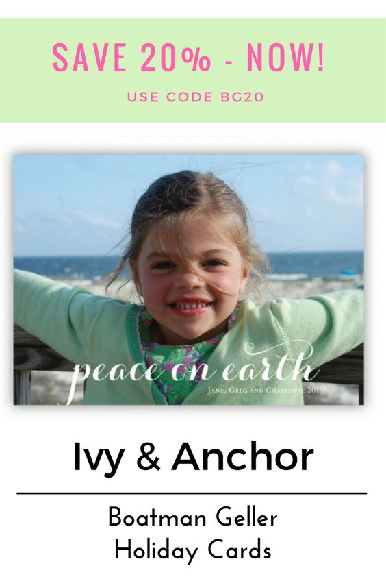 Personalized holiday photo cards from boatman geller save now happy notes and more ivy and anchor store pinterest holiday photo cards and photo