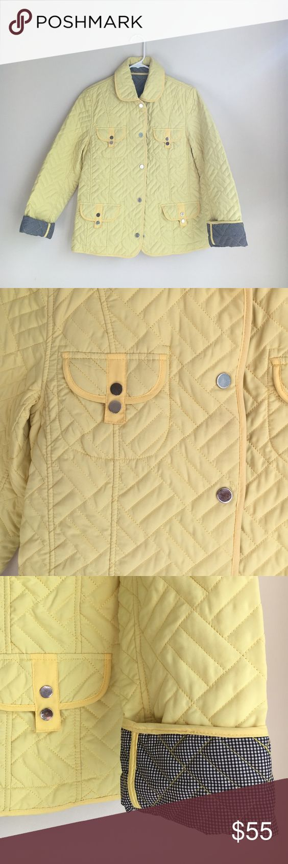 Marcona jacket Banana taffy yellow - pristine condition! marcona Jackets & Coats
