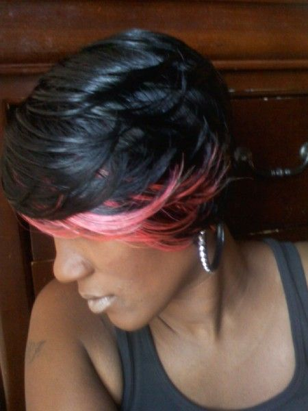 Super Quick Weave Quick Weave Hairstyles And Weave Hairstyles On Pinterest Hairstyle Inspiration Daily Dogsangcom